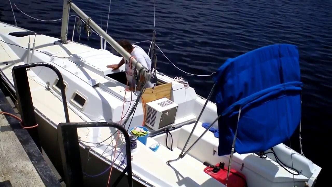 Super Cool Live Aboard Sailboat Bimini Top Tiny House can ...