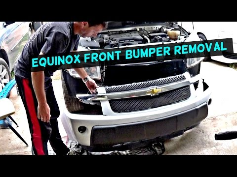 Chevrolet Equinox Front Bumper Cover Removal And Replacement 2005
