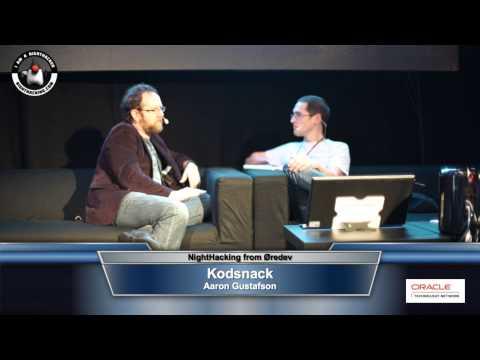 Kodsnack interviewing Aaron Gustafson