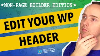 How To Edit The WordPress Header | WP Learning Lab Mp3
