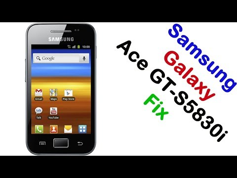 How to Samsung Galaxy Ace GT-S5830i Firmware Update (Fix ROM)
