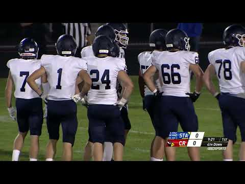 Prep Football St Thomas Academy at Coon Rapids 10.9.20 (Full Game)