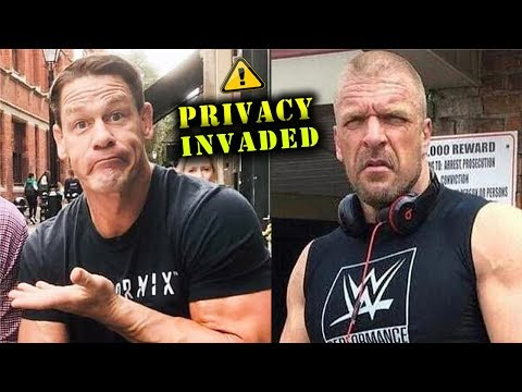 10 WWE Wrestlers Privacy Invaded in Public - John Cena, Triple H & more