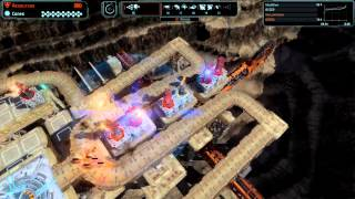 Defense Grid 2 Gold Medal Walkthrough [Hard] Mission 13 Deep End - No Tower Items