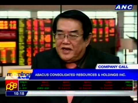 COMPANY CALL: Abacus Consolidated Resources And Holdings, Inc.