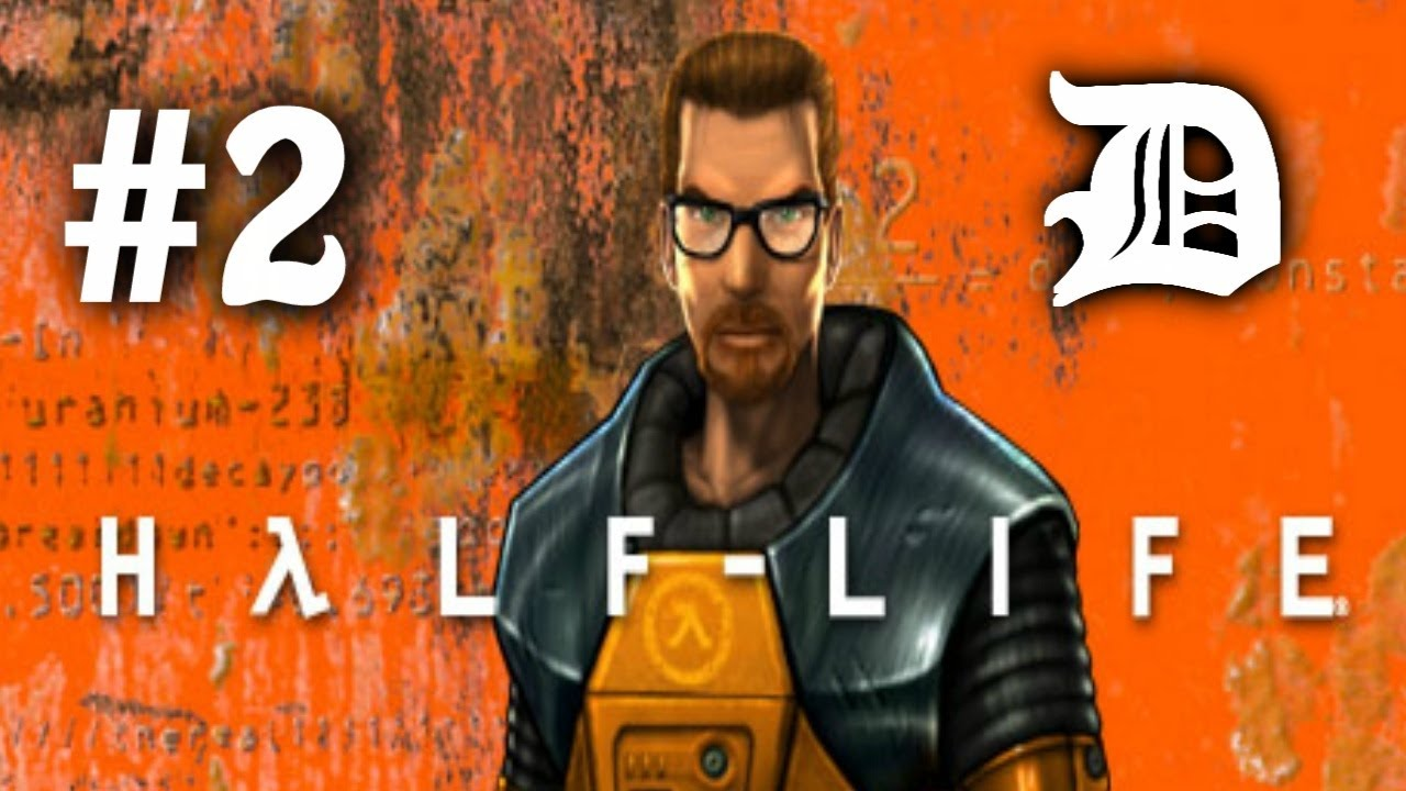 Half Life - Part 2 - The Crowbar! And Monsters!!!