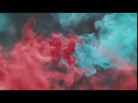 Colorful Smoke Reveal Logo Video Intro...