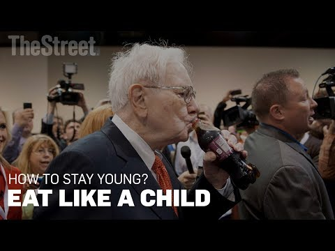 Eating Like a Child Is What Keeps Warren Buffett Young