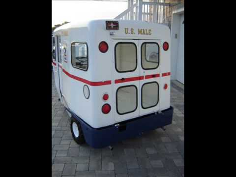 1963 Westcoaster Mailster - Vintage 3 wheel Postal Truck