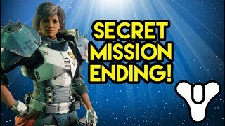 Destiny 2 secret mission ending on titan!