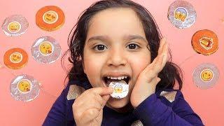 لعبة صنع فلوس بشوكلاتة ايموجي !  😱 العاب طبخ للاطفال  choclate coin maker