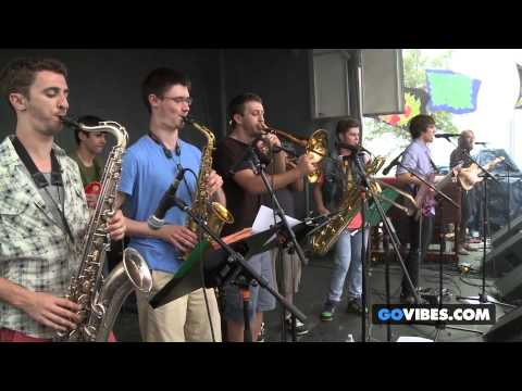 "McLovins perform ""Shivers"" at Gathering of the Vibes Music Festival 2013"