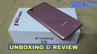 Sansui Horizon 2 Unboxing & Review | Best Smart phone Under Rs 5000