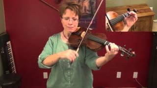 Suzuki Violin Book 3, No. 2: Bach Minuet, violin only