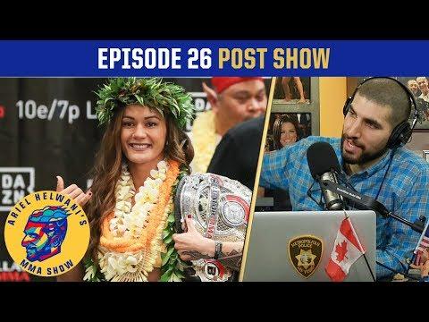 Did Bellator overshadow UFC this weekend? | Ariel Helwani's MMA Post-Show: Episode 26