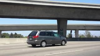 Manejando por 17 st y freeway 5 de santa ana