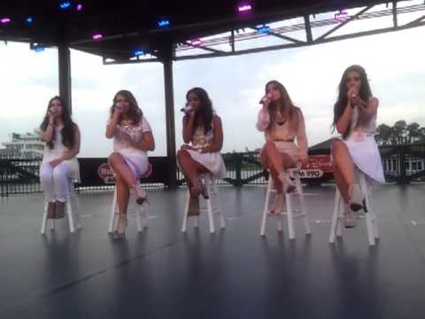 Fifth Harmony Orlando,FL Singing Red
