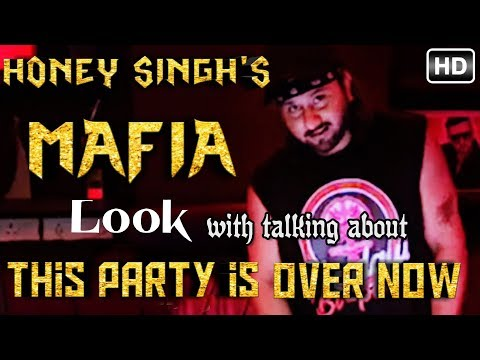 YO YO HONEY SINGH talking about his new song 'THIS PARTY IS OVER NOW' || yo yo is back with new look