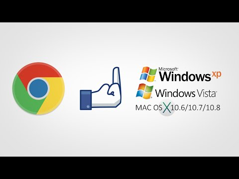 Google Ending Chrome Support For Windows XP, Vista and MAC OS X 10.6/10.7/10.8