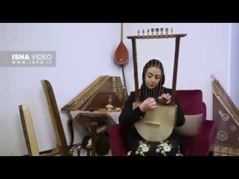 رابعه زند/a old persian Musical instrument .used in 2000 bc