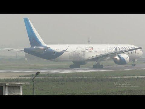 [HD] Airbus & Boeing Widebody Jets: Plane Spotting at Dhaka Airport- Episode 177