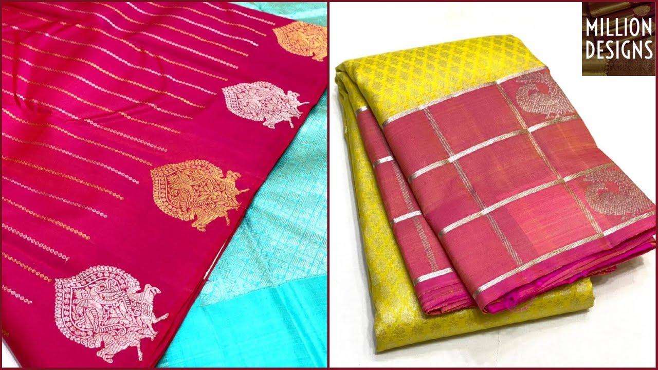 22 Jan 2021 | Million Designs Kanchi Pattu Sarees With Price Online Shopping