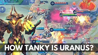 URANUS IS SO TANKY LATE GAME | Mobile Legends