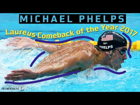 Laureus Comeback of the Year Award 2017 - Michael Phelps
