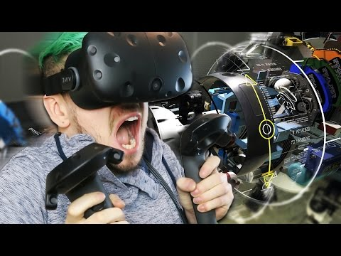THE FUTURE IS NOW! | HTC Vive Virtual Reality