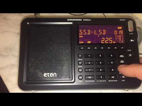 Polski Radio 1, 225 kHz heard in Genoa, Italy with Eton Sate