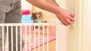 Wall Fix Safety Gate Installation Guide - How To Fit Your Child/baby Stair Gate