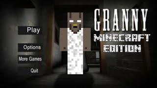 Granny in Minecraft PE [Minecraft Horror Video]