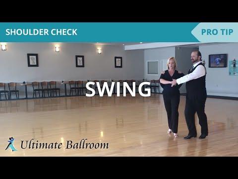 Swing: Shoulder Check - Ballroom Dance Lesson