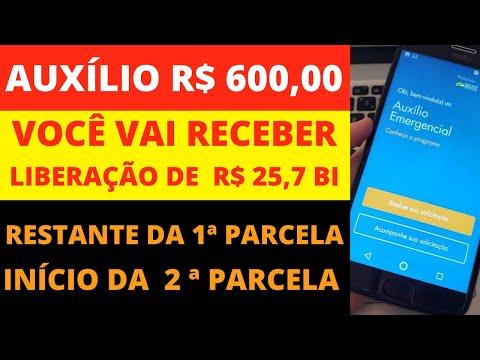 PAGAMENTO DO AUXILIO EMERGENCIAL R$ 600,00 [MAIS DINHEIRO] ÚLTIMAS NOTICIAS AUXÍLIO EMERGENCIAL