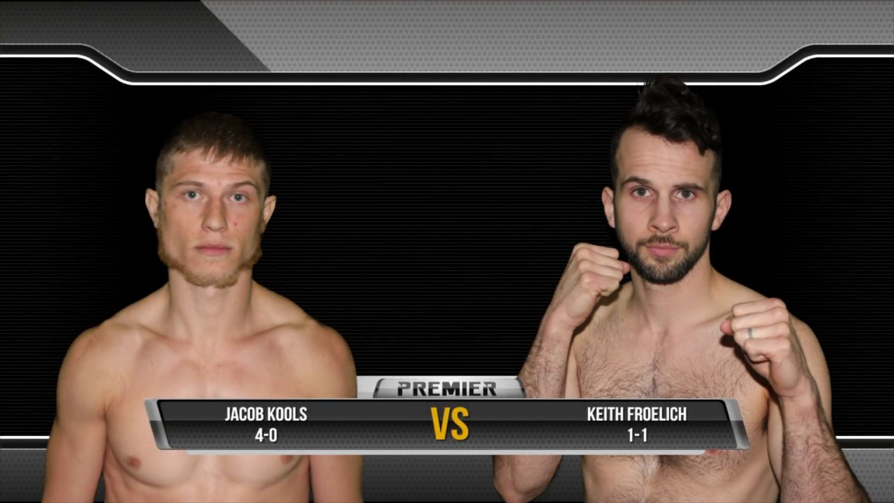 Premier MMA Championship 2 Jake Kools vs Keith Froelich