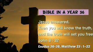 성경일년일독 36 (NIV, 개역개정): 출애굽기 36…