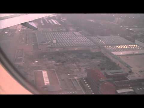 Landing at Berlin Tegel Airport, Berlin, Germany - 16th November, 2012