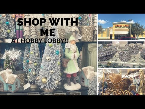 SHOP WITH ME AT HOBBY LOBBY!!! SEPTEMBER 2017-PT1