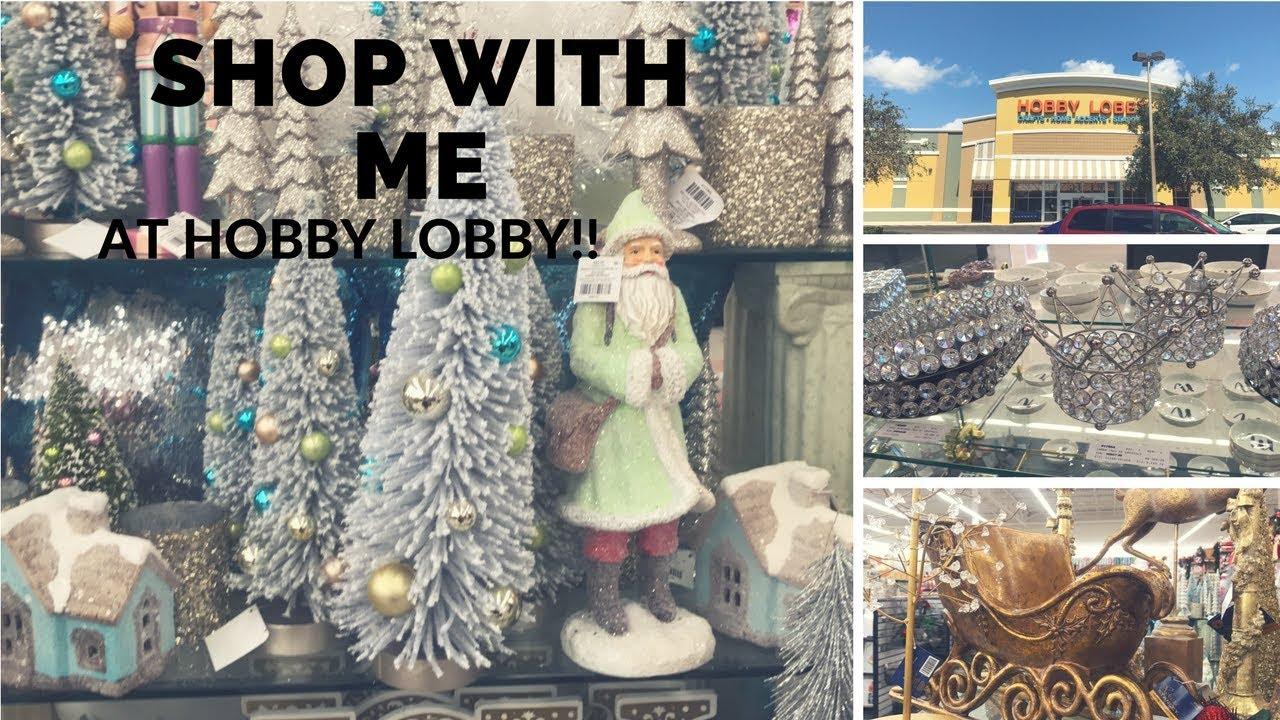 hobby lobby shop with me september 2017 pt1rusticfarmhouse christmas collection