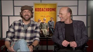 Jason Sudeikis & Ed Harris on Shooting with Film in