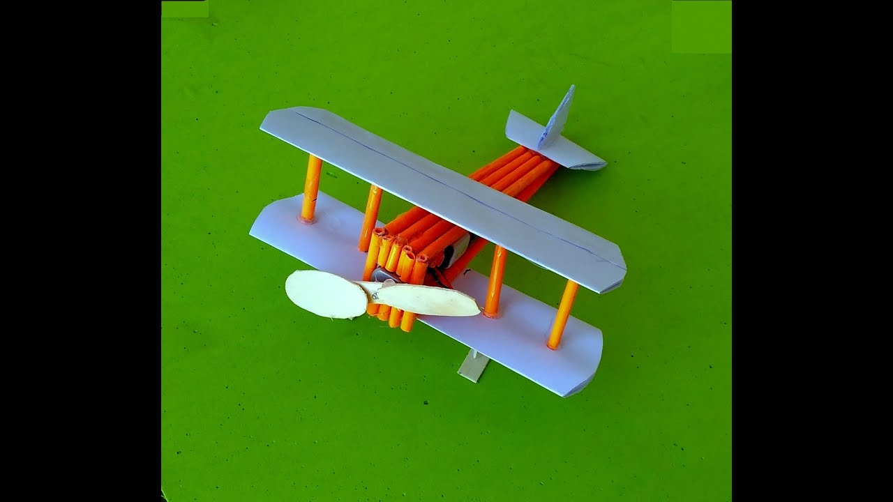 How To Make Paper Toy Airplane Youtube