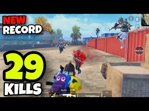 NEW RECORD IN NOVOREPNOYE!!! | BEST GAMEPLAY WITH BEST WEAPONS | PUBG MOBILE