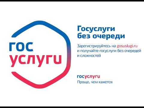 Регистрация физлиц на портале Госуслуг (субтитры)