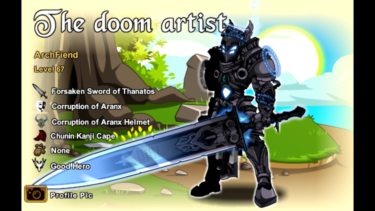 AQW Cool Character Pages 13