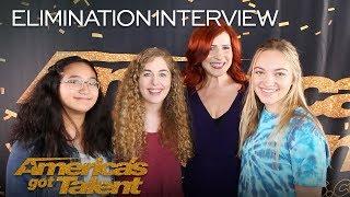Elimination Interview: Voices Of Hope Children's Choir Thank Their Fans - America's Got Talent 2018