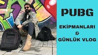 GERÇEK PUBG EKİPMANLARI & GÜNLÜK VLOG