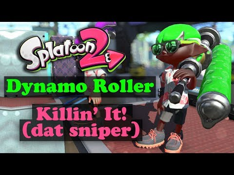 Killin' It with the Dynamo Roller - Splatoon 2 Shorts
