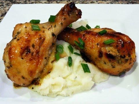Pollo en miel y mostaza receta para san valentin youtube for Cocinar 2 muslos de pollo