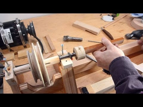 Building a lathe from scratch