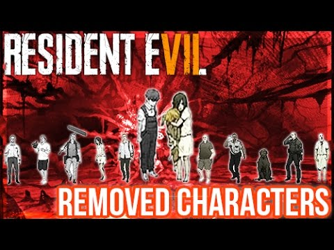 Resident Evil 7 - Removed CharactersStory Changes & More